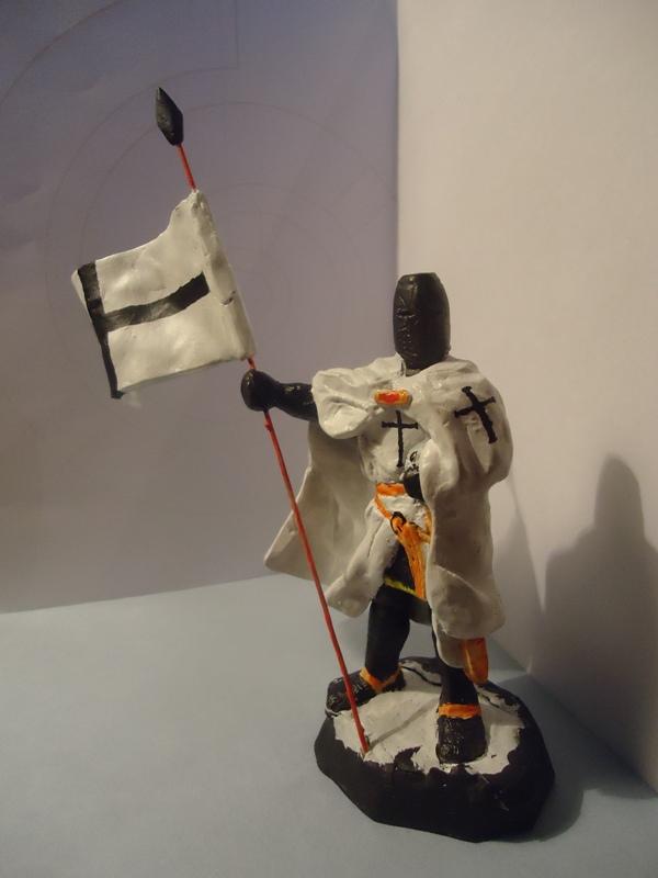Как сделать из пластилина одного рыцаря