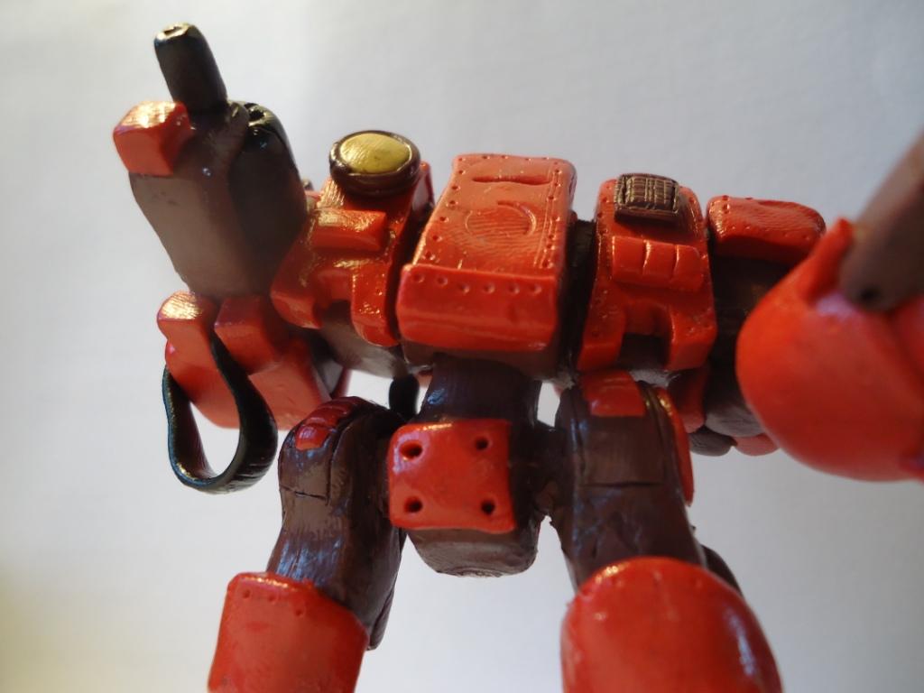 Как сделать робота из пластилина фото для малыша