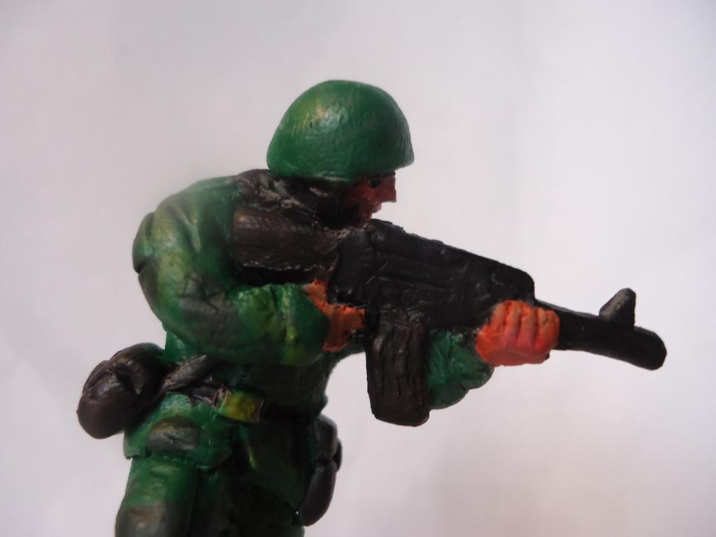 Солдатики из пластилина как сделать